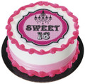 Sweet 16 Birthday ~ Edible Icing Image
