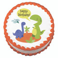 Dino Birthday ~ Edible Icing Image
