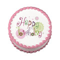 Serendipity Birthday ~ Edible Icing Image