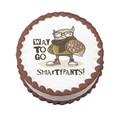 Way To Go Smarty Pants! ~ Edible Icing Image
