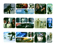 Star Wars Galaxy ~ Edible Icing Image Border Strips
