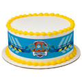 Paw Patrol All Paws on Deck ~ Edible Icing Image Border Strips