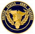 Army Reserve Logo Edible Cake or Cupcake Topper