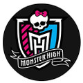 Monster High Edible Icing Image