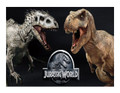 Jurassic Park World Edible Icing Image Cake Topper for 1/4 sheet cake