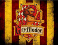Harry Potter Hogwarts Gryffindor Crest Edible Icing Image for 1/4 sheet cake