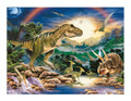 Dinosaurs Edible Icing Image for 1/4 sheet cake