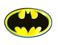 Batman Logo Edible Image® Cake Topper