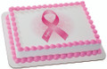 Ribbon of Hope - Breast Cancer Awareness ~ Edible Icing Image