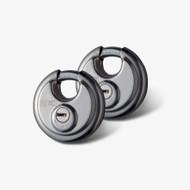 Van Vault New Style 70mm Disc Lock (Twin Pack)
