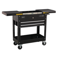 Sealey Mobile Tool & Parts Trolley - Black