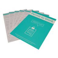 Permit To Work Pk 10 - Asbestos Alert