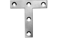 "100mm (4"") Tee Plates Zinc Plated (Per 10)"