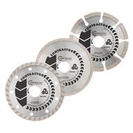 Spectrum Contractor GTT Diamond Blade Triple Pack