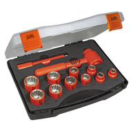 """ITL Insulated 3/8"""" Drive 12 Piece Socket Set"""