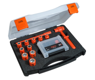 """ITL Insulated 1/4"""" Drive 24 Piece Metric Socket And Bit Set"""