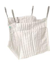 FIBC Ventilated Log Bag 90 x 90 x 90cm
