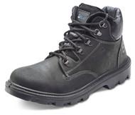Click Sherpa Pu Rubber Chukka Boot - Black