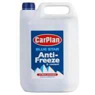 CarPlan Blue Star Antifreeze & Coolant 5 Litre