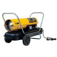 Master Dual Voltage Direct Diesel Oil Heater