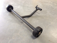Transport Axle for Lumag RP1100PRO Petrol Compactor Wacker Plate