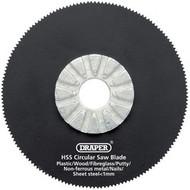 Draper 63mm HSS Circular Saw Blade