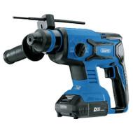 Draper D20 20v Brushless SDS+ Hammer Drill With 2x 2ah Batteries