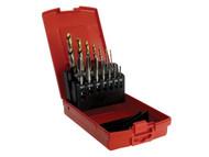 Dormer A002 Drills & E500 HSS MC Tap Set, M3-M12