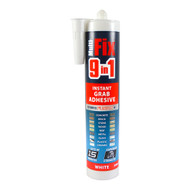 Timco 9 in 1 Instant Grab Adhesive - White 290ml