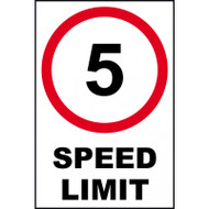 Speed Limit Signs On FMX 400mm x 600mm
