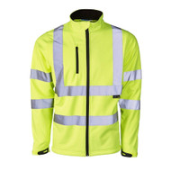 Supertouch Softshell Hi-Vis Jacket - Yellow