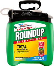Roundup Fast Action Pump N Go Total Weedkiller 5L