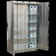 Sealey Galvanised Steel Floor Cabinet - 4-Shelf - 1100 x 410 x 1830mm