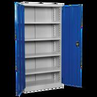 Industrial Cabinet 4 Shelf - 900 x 450 x 1800mm