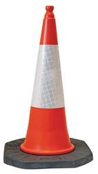 Dominator™ 1m Traffic Cone with Sealbrite™ Sleeve - Orange