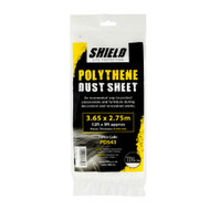 Polythene Dust Sheet 3.65m x 2.75m