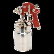 Sealey HVLP Suction Feed Spray Gun 1.7mm Set-Up
