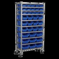 Sealey Mobile Bin Storage System With 36 Bins