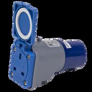 Worksafe 230v 16A To 13A Socket Adaptor
