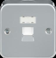 Metal Clad 1G RJ45 Network Outlet Socket