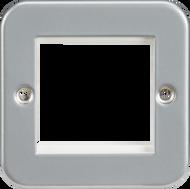 Metal Clad 2G Modular Faceplate