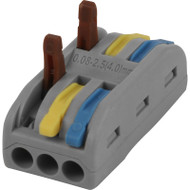 Dyson 3 lever 32A Colour Coded Through Connector (Pack of 10)