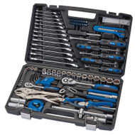 Draper 100 Piece General Tool Kit In Carry Case