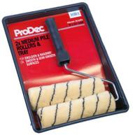"Prodec 9"" x 1.75"" Tiger Medium Pile Roller Kit With 2 Refills"