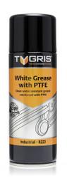 Tygris Aerosol White Grease With PTFE, 400ml