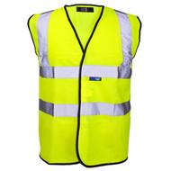 Standard Hi-Vis Waistcoat/Vest - Yellow