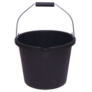 Black Builders Bucket (15Ltr)
