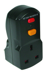 Defender 13a RCD Plug and Socket Adaptor 240v
