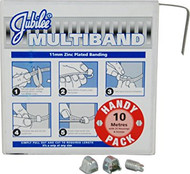 Jubilee 11mm Multiband 10m Handy Pack c/w 25 Housings (Zinc)