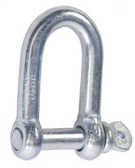 Commercial Dee Shackle Zinc Plated (Per 10)